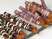Milk Chocolate Covered Pretzel Rods